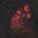 NGC 6334,                                ozstronomer