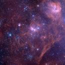 Around IC417 - DSS data,                                Roberto Colombari