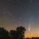 Comet C / 2020 F3 (NEOWISE) 18.07.2020,                                Łukasz Żak
