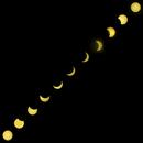 Eclipse du 20/03/15 - Chapelet,                                Dom...