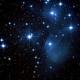 Pleiades / M45 more saturation,                                superstar