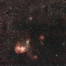 Running Chicken Nebula - IC 2944,                                Mateus