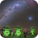 At ALMA (Atacama Large Millimeter Array),  accompanied by Gum Nebula and others,                                Carlos 'Kiko' Fai...