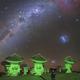 At ALMA (Atacama Large Millimeter Array),  accompanied by Gum Nebula and others,                                Carlos 'Kiko' Fai...