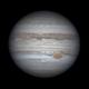 Jupiter animation under excellent seeing,                                Lucas Magalhães
