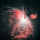 M42 - The Orion Nebula in HSO,                                Anca Popa