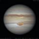 Jupiter   2019-04-27 9:34   RGB,                                Chappel Astro