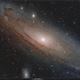 Messier 31,                                Enrico Scheibel