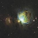 Orion Nebula in LSHO,                                meansrt