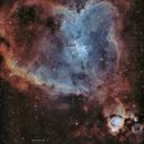 Heart Nebula in SHO,                                John