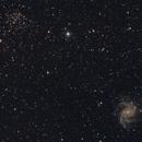 NGC6946 e NGC6939,                                Valerio Pardi