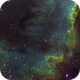 "NGC 7000 ""The Wall"" SHO,                                MLuoto"