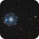 NGC 6543 - Cat's Eye Nebula (HA/OIII/RGB),                                Michel Makhlouta