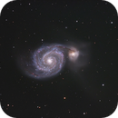 M51 - The Whirlpool Galaxy,                                Danny Flippo