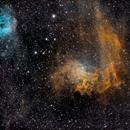 IC 405  Flaming Star Nebula,                                Edward Overstreet