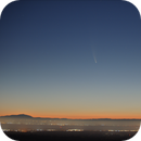C/2020 F3 NEOWISE over the east bay - 12 July,                                pfile