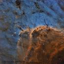 Pelican Nebula in Narrow band,                                Steve Cooper