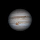 Jupiter - 2020-07-17-0445UT - Europa/GRS Transit animation,                                Anis Abdul