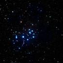 M45 - the Pleiades,                                Tom Gray
