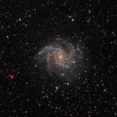 Fireworks Galaxy NGC 6946 (RGB),                                DerPit