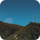 Moonset in Socal March 31 2021,                                Wes Chilton