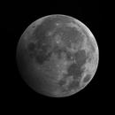 Penumbral lunar eclipse, 10-01-2020,                                michiel2345