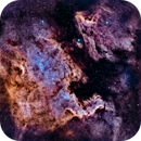 North America and Pelican Nebulae from Los Angeles,                                Alex Weinstein