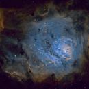 M8 Lagoon Nebula SHO,                                wileyglance