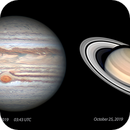 My best Jupiter and Saturn this season 2019,                                Ecleido Azevedo