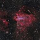 M17 - Swan Nebula in Sagittarius,                                CrestwoodSky