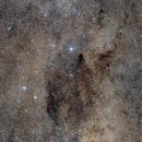 Coalsack Nebula and Southern Cross,                                Annette & Holger