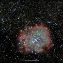 Rosetta Nebel im visuellen Spektrum,                                firstLight