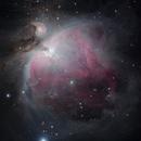 M42 in RGB,                                Sergey Trudolyubov