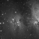Running man nebula,                                Henry Kwok