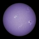 Sun FD in CaK 3rd of July 2021 - colorized,                                Arne Danielsen