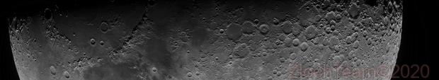 Mosaïque de la Lune,                                ZlochTeamAstro