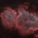 IC1848 Soul nebula in HOO,                                Jean-François Dou...