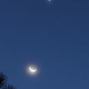 Moon and Venus 20151009,                                Sergio Alessandrelli