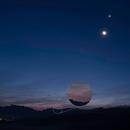Venus, Moon, Mars, Jupiter and Mercury,                                Peter