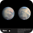 The Mars dust storm - a collaboration with Luke Gulliver,                                Niall MacNeill