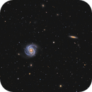 M100 and NGC4312,                                Andreas Eleftheriou