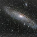 Neubearbeitung 1 M31 alias Andromeda Galaxie 400mm,                                Matthias Groß