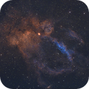 SH 2-157 - Lobster Claw Nebula,                                kekkyu