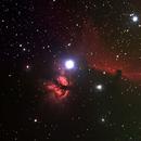 Horsehead nebula,                                Arne Bjorndahl