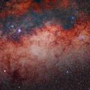 Milky Way (M6, M7, M8, M20, M21, M22, M23, M24, M25),                                Lorenzo Palloni