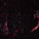 Veil Nebula in HSOO,                                Andreas Dietz