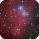 Cone Nebula - NGC2264 - Ha-LRGB,                                Thomas Richter