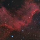 NGC7000 HA-RGB,                                Vincent