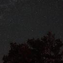Starscape with Polaris in centre,                                oystein