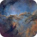 NGC 6188 - The Fighting Dragons - Hubble Palette,                                Eric Coles (coles44)